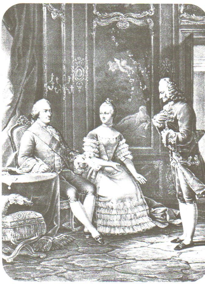 Voltaire Louis Xv