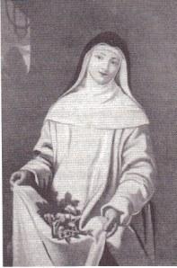 Diane, Marquise de Ganges, painted by Mignard as Saint Roseline (Hospice de Villeneuve-les-Avignon).