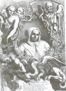 Catherine Deshayes, wife of Monvoisin